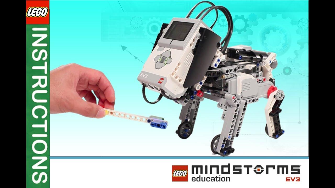Lego Minstorms Ev3 Dog Building Instruction 2016