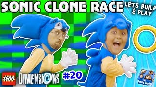 - SONIC THE HEDGEHOG TWINS LEGO Dimensions Fun w Dr Robotnik Battle Let s Build Play YEAR 2 20