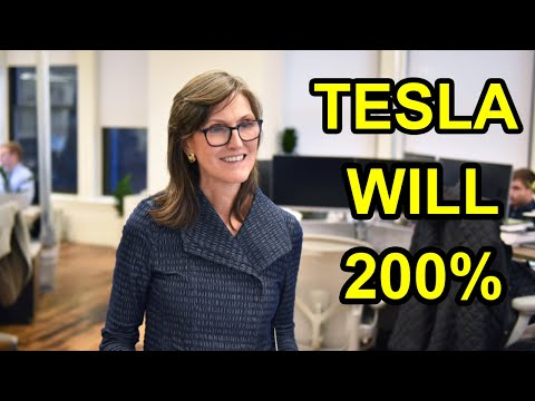 Cathie Wood: Tesla Stock Could Go Up By 200%  ( BIG INVESTMENT OPPORTUNITY)