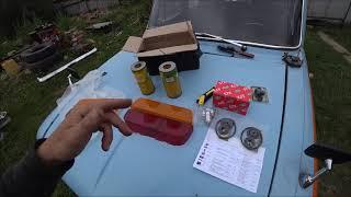 Распаковка  посылки / сварка / тест сигнала 9- серия   комби-  оживление