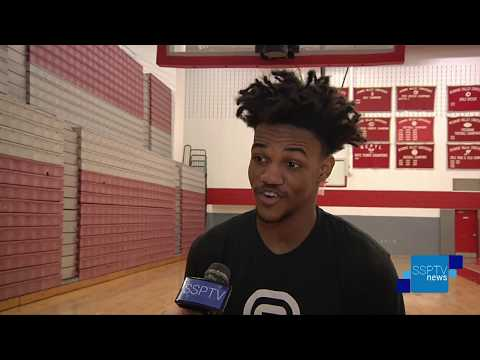 HAHS Cougars Dunk Depression Charity Game Preview - SSPTV News