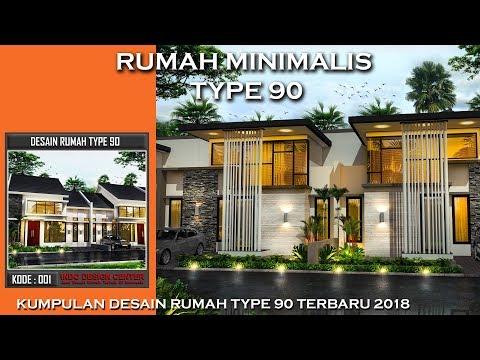 Desain Rumah Minimalis Type 90  - Kumpulan Rumah Minimalis Type 90 TERPOPULER 2018