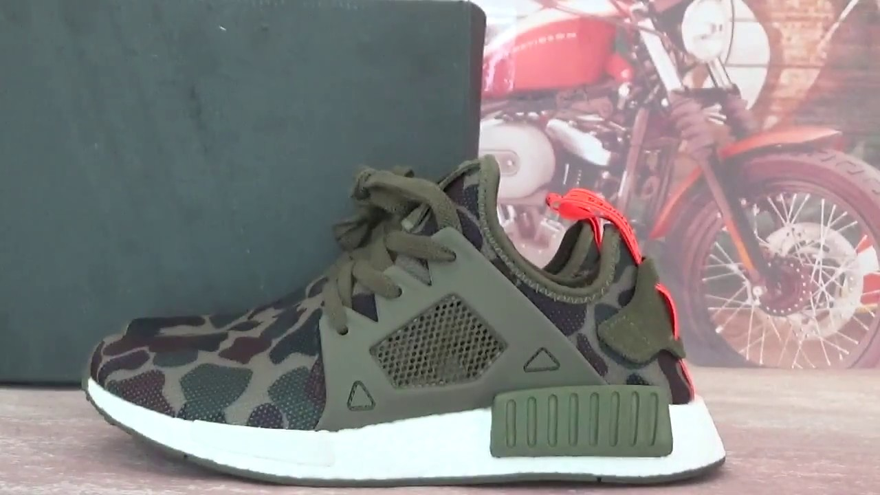 Big Discount Nmd Xr 1 Pk Og Duck Camo Mmj Black Green Sock