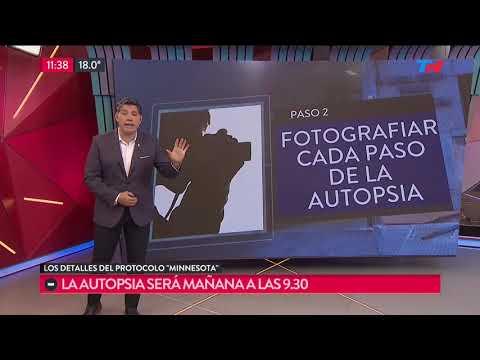 """El protocolo """"Minnesota"""" y la autopsia del cuerpo de Río Chubut"""