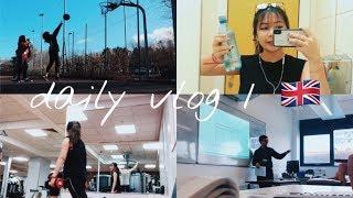 DAILY VLOG 1: Một ngày đi học của du học sinh Anh 🇬🇧 | A day in my life | Sarah Tran