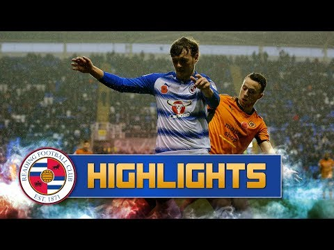 2-minute review: Reading 0-2 Wolverhampton Wanderers (Sky Bet Championship), 18th November 2017