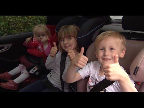 Drei Kinder - Ein Auto