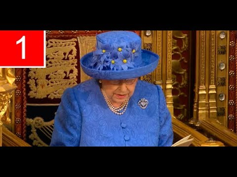 QUEEN'S FULL SPEECH | Queen Delivers Government's Plan (21Jun17)
