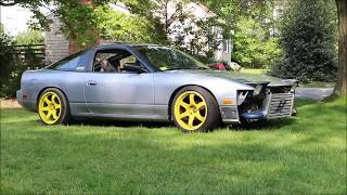 Finally setting the stance on my Sr20det swapped 240sx - Looks so good!!