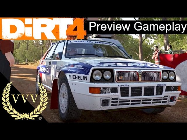 Dirt 4 Preview Gameplay