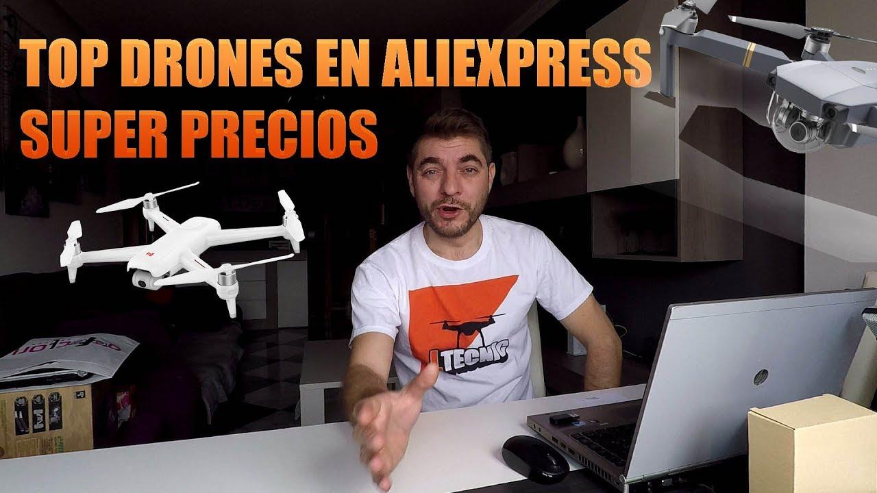 TOP  DRONES EN ALIEXPRESS, LOCURA DE Precios, Aniversario Aliexpress
