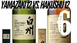 Yamazaki 12 vs Hakushu 12. Whisky in the 6 #189