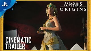 Assassin's Creed Origins: Gamescom 2017 Cinematic Trailer | PS4