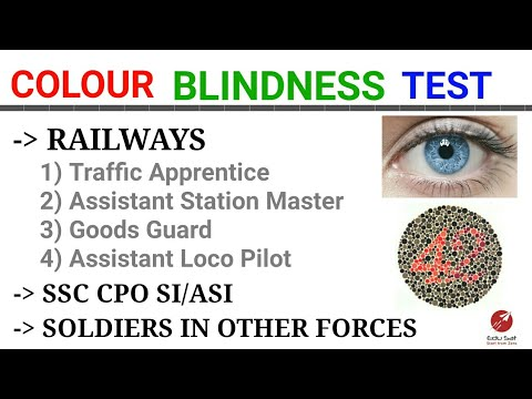 EYE TEST   CHECK COLOUR BLINDNESS   RRB NTPC 2015   SSC CPO SI/ASI   DIFFERENT FORCES