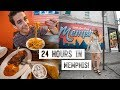 24 Hours in Memphis, TN! Trying Barbecue SPAGHETTI!? + Exploring the City