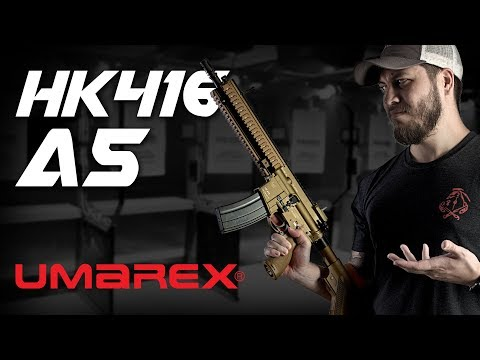 The One GBBR To Rule Them ALL? Umarex HK416 A5 GBBR - RedWolf Airsoft RWTV