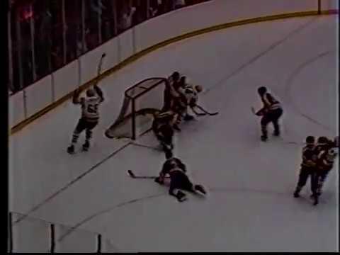 February 24, 1986 - Kings at Penguins - Doug Shedden (31) (Lemieux, Schmidt), 3:54