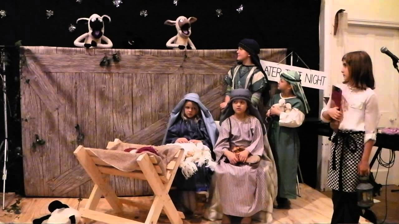 Dorchester Community Church - Christmas Nativity Play 2013 - YouTube