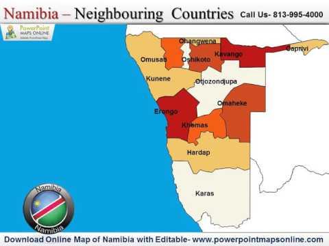 Karte Namibia Download.Download Online Map Of Namibia