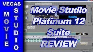 Sony Movie Studio Platinum 12 Suite 64 bit - Review of New Features