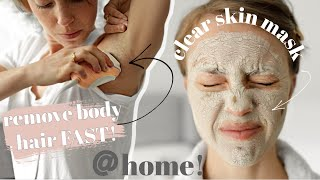 My Self Care Routine At Home Remove Body Hair Facial Get Glowy Skin