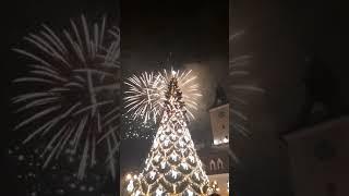 Happy New Year from Brasov,Romania ( 2019 ) . Revelion Brasov 2019 Piata Sfatului