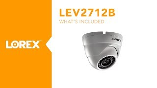 Unboxing the Lorex by FLIR LEV2712B 1080p HD Dome Security Camera