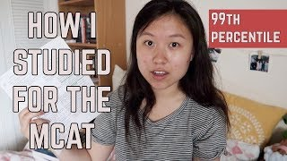 Download How I Studied for the MCAT (99th PERCENTILE SCORE IN 2 MONTHS!)