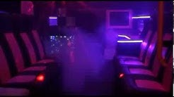 Pink Party Bus Ambulance Limo | Limousine for hire covering the West Midlands area