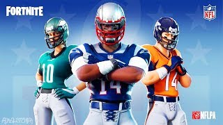FORTNITE x NFL ! NEW FOOTBALL SKINS !