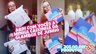 CAIXINHA GLAMBOX DE JUNHO   CHOCADA COM OS PRODUTOS + ABRI JUNTO COM VOCÊS