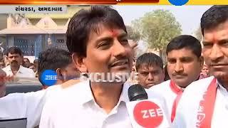 Alpesh thakor gives statement on Asha patel resigned from Congress | Zee 24 Kalak