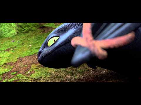 How To Train Your Dragon Downed Dragon Scene 4k Hd