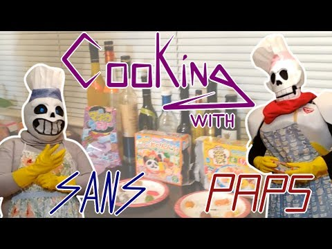 "|| TheNoblesCosplay || ""Cooking with Sans & Papyrus"" 