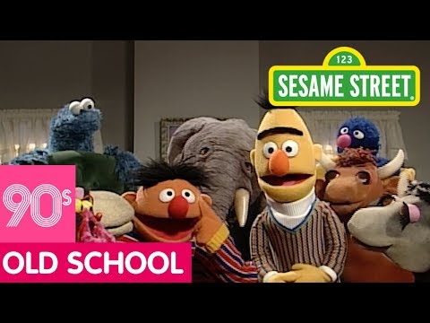 Sesame Street: Adding Song with Bert and Ernie  #ThrowbackThursday