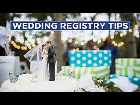 The Dos And Don'ts Of Wedding Registries - HGTV