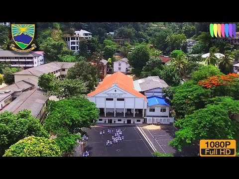 Girls High School Kandy - Aerial Video