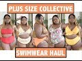 HUGE COLLECTIVE PLUS SIZE SWIMWEAR HAUL - S/S '18