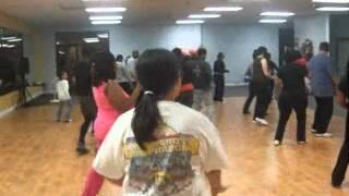 Booty Work line dance