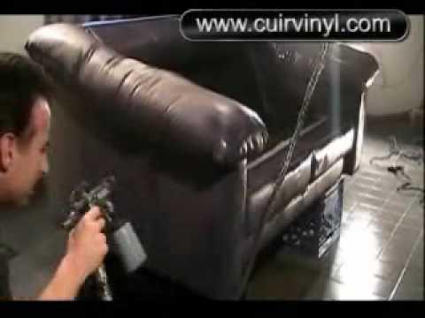teinture cuir comment appliquer nos produits doovi. Black Bedroom Furniture Sets. Home Design Ideas