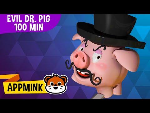 appMink Police Cars & Helicopters Cartoon | Kids Videos & Kindergarten animation playlist