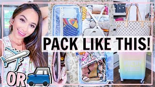 PACK LIKE THIS! BEST CARRY ON VACATION PACK WITH ME 2019 | Alexandra Beuter