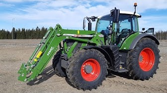 FENDT 724 PROFI PLUS KÄYTÖNOPASTUS - kattava esittely Fendt traktorista