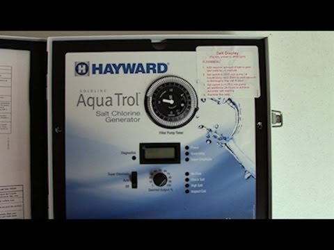Understanding the Features of your Hayward AquaTrol Salt System