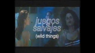 Juegos salvajes (Trailer en castellano)
