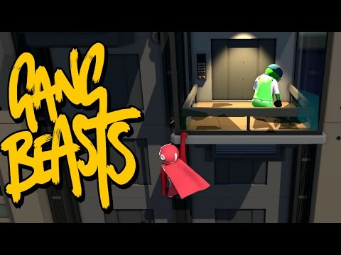 GANG BEASTS - Beating Kyle Up!!!