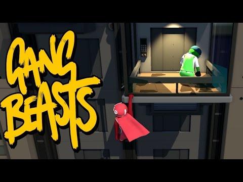 GANG BEASTS - Beating Kyle Up!!!