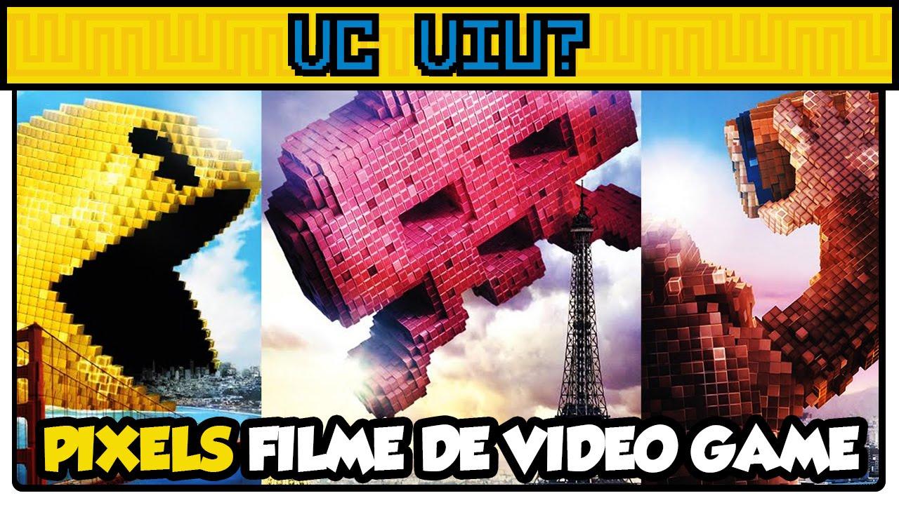 Pixels - Novo Filme de Video Game