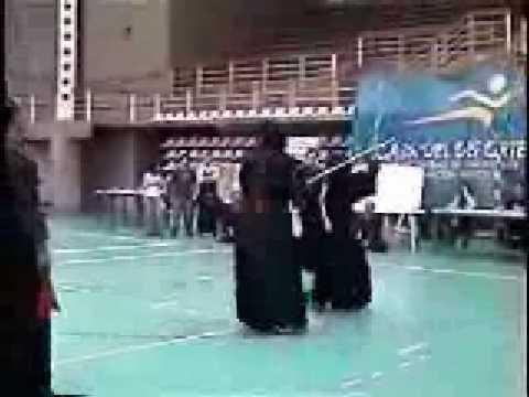 Open Kendo in Viña - Final Senpo (1/3)
