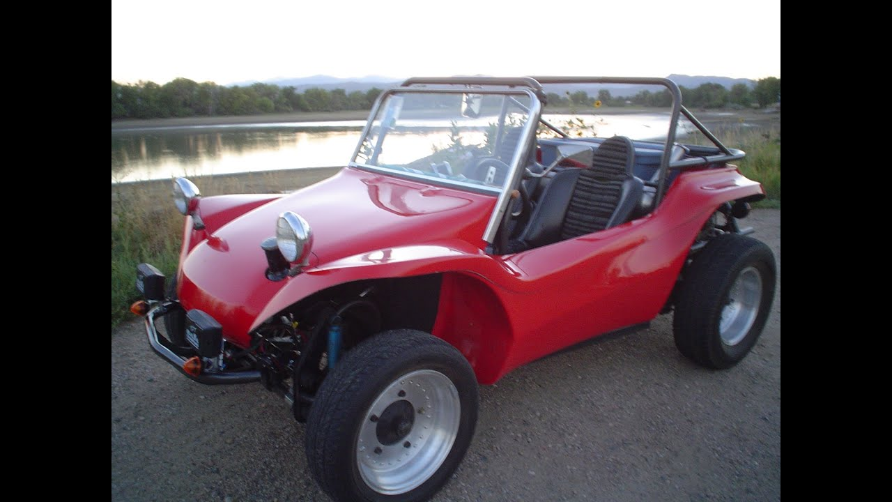 Vw Dune Buggy >> Short ride in the Red Dune Buggy - YouTube
